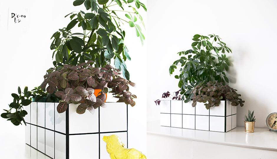 Création tuto DIY bac à plantes carrelé Castorama : tuto www.18h39.fr