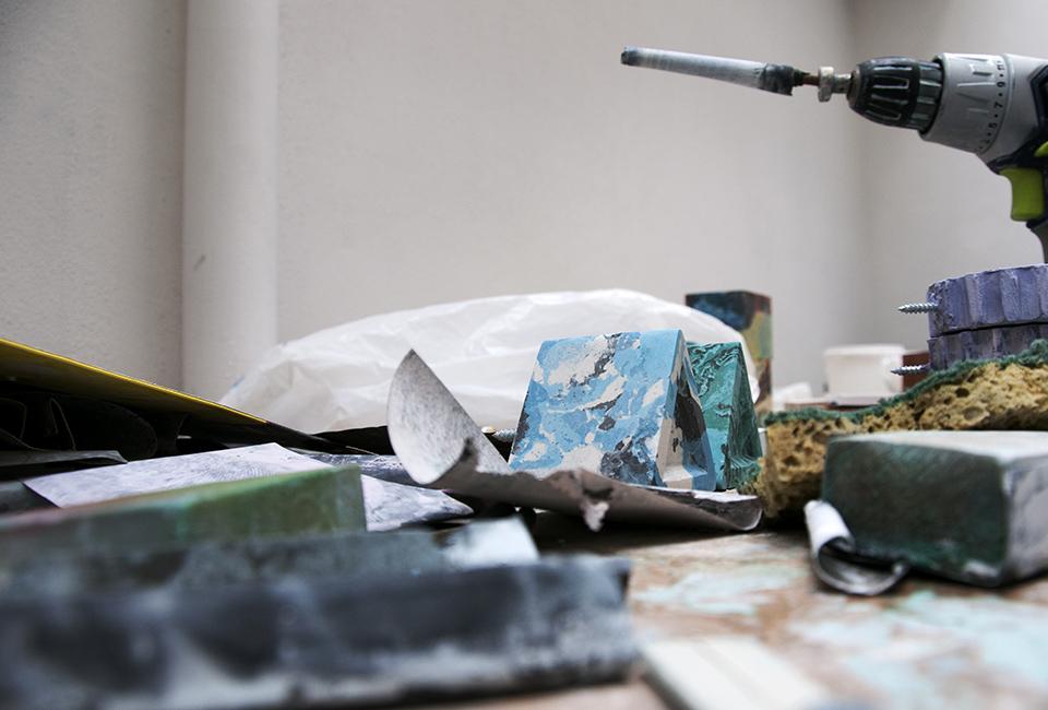 Rencontre d'artisan La Fabrique NOMADE : reportage photo dans l'atelier d'Abu