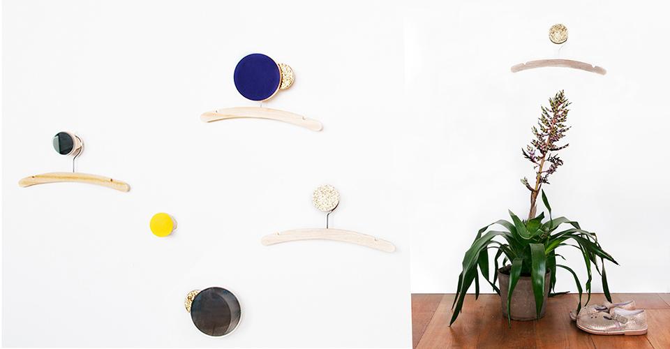 Création DIY patères enfants, en bois et miroir, tuto Castorama - www.18h39.fr