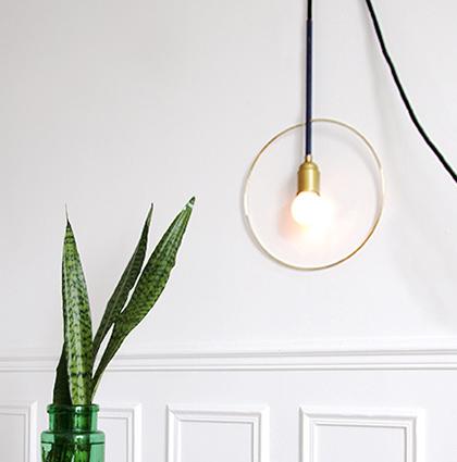 DIY CASTORAMA : CLARK, UNE LAMPE ART DÉCO