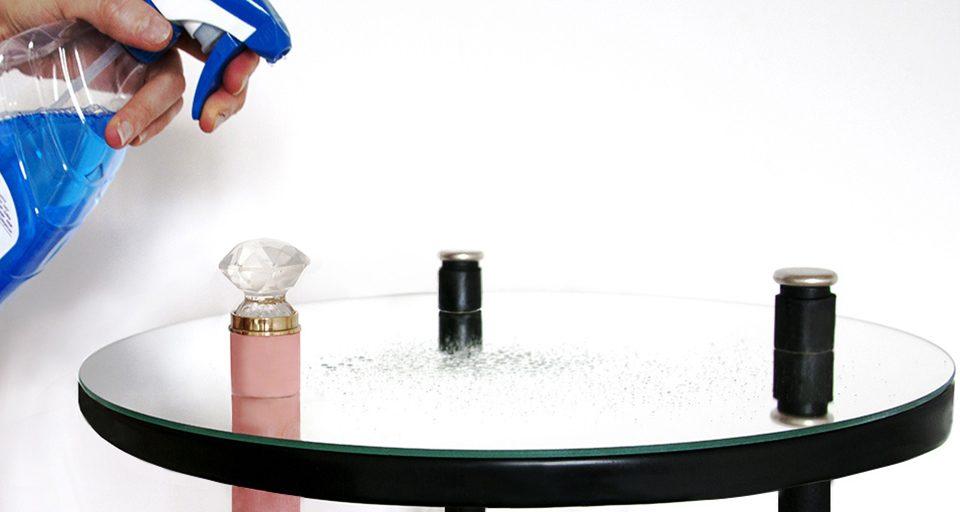 Création DIY table art déco pour un tuto Castorama ! Table d'appoint miroir tripode