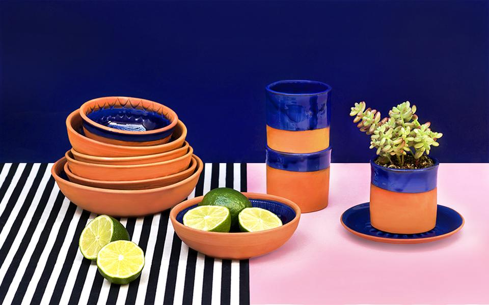 Stylisme photo catalogue objets artisanaux La Fabrique NOMADE - Maryline Sadet Styliste set designer Paris
