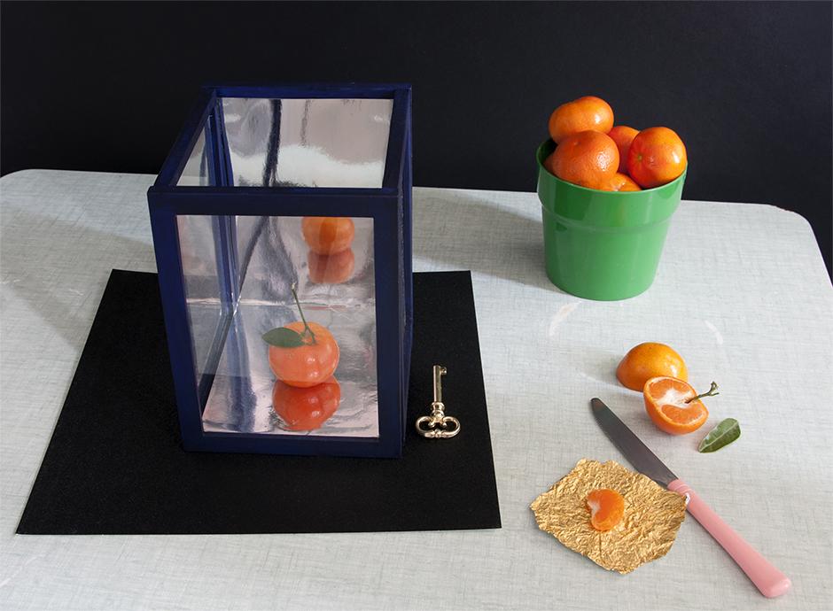 Stylisme nature morte, set design, stylisme culinaire, autour d'une vitrine DIY Cabinet de curiosité pour Castorama - set designer à Paris